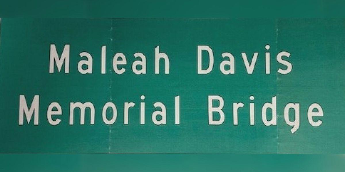 Date set for Maleah Davis Memorial Bridge dedication in SWAR