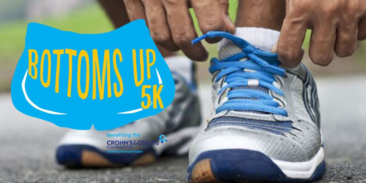 Bottoms Up 5K to raise awareness for crohn's and colitis