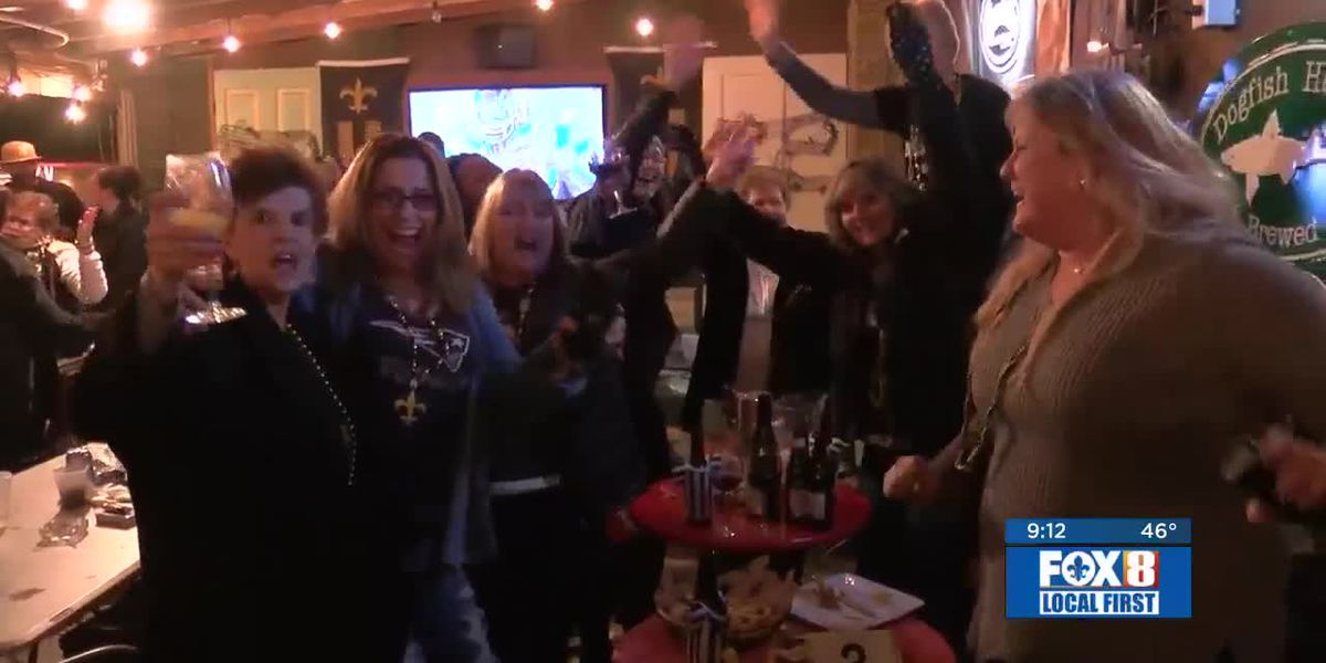 'Who Dats' revel in big win against the Eagles