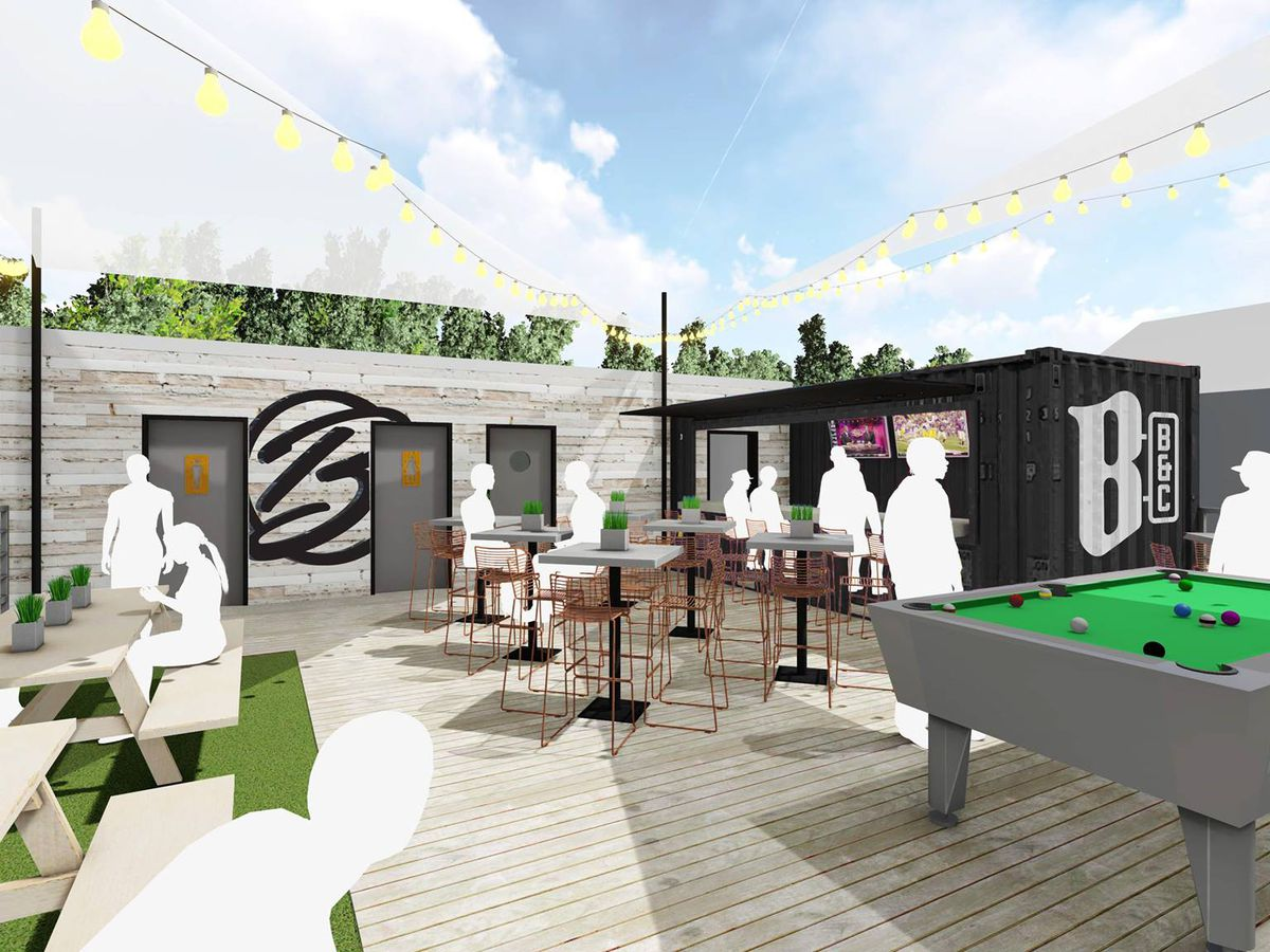 New rooftop restaurant and bar to open in vacant Crispy Catch building