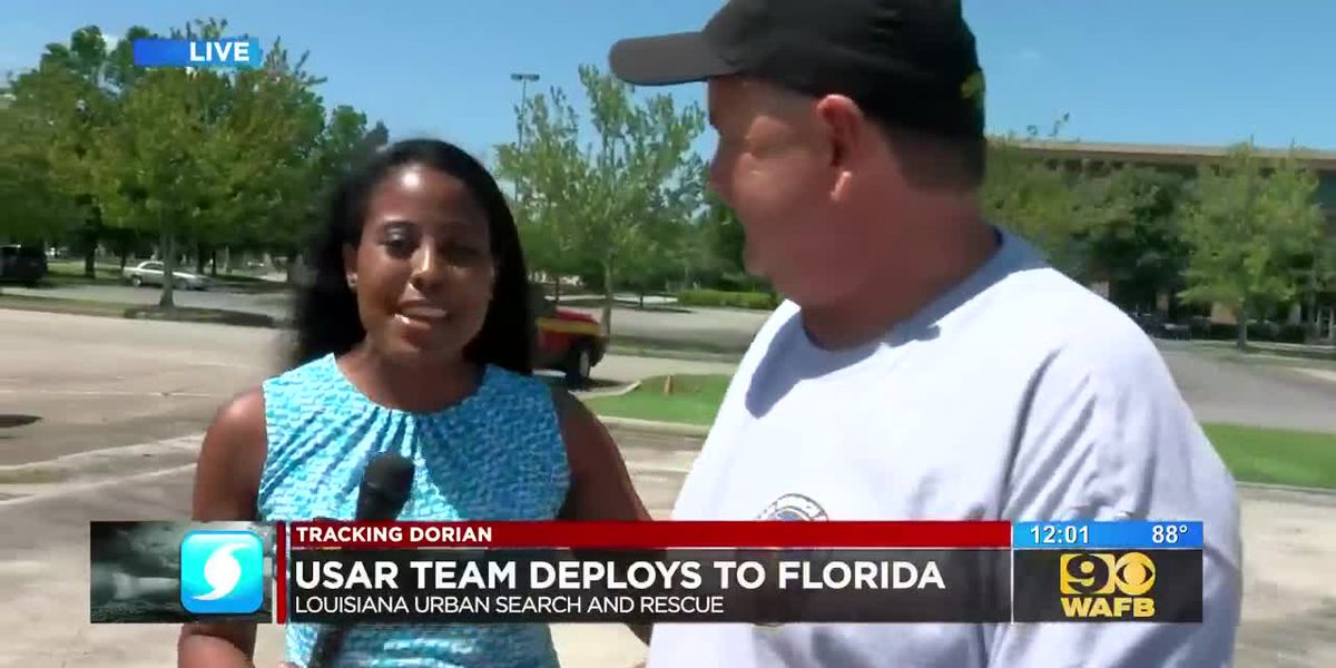 USAR team deploys to Florida to assist with Hurricane Dorian