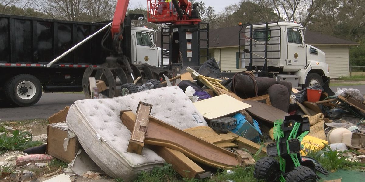 Major changes for EBR residents as city begins week-long cleaning effort