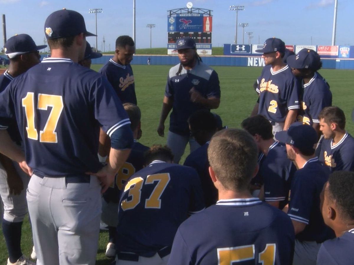 Southern baseball beats Alcorn St., 12-9, to start the season 3-0