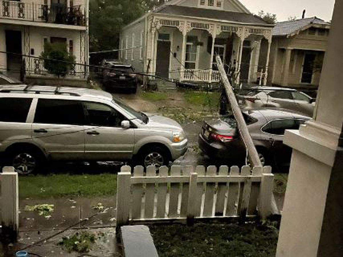 Overnight storms, possible tornado leave behind significant damage in New Orleans