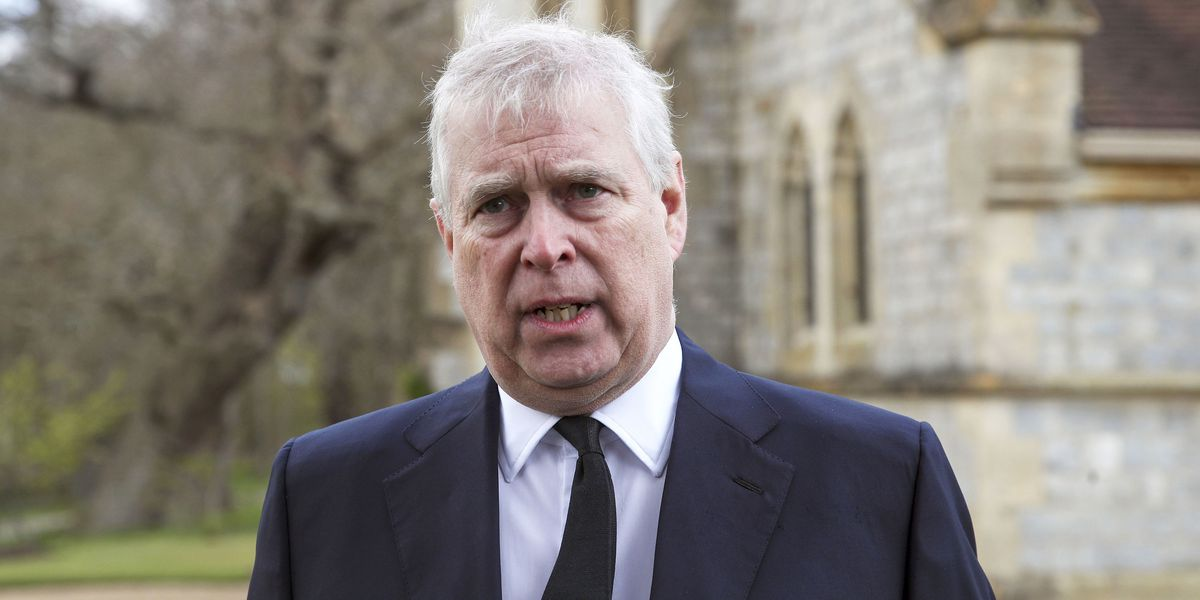 Two arrested after trespassing near Prince Andrew's home