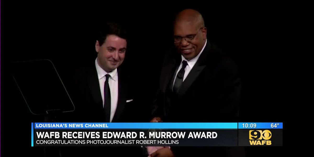WAFB receives Edward R. Murrow Award