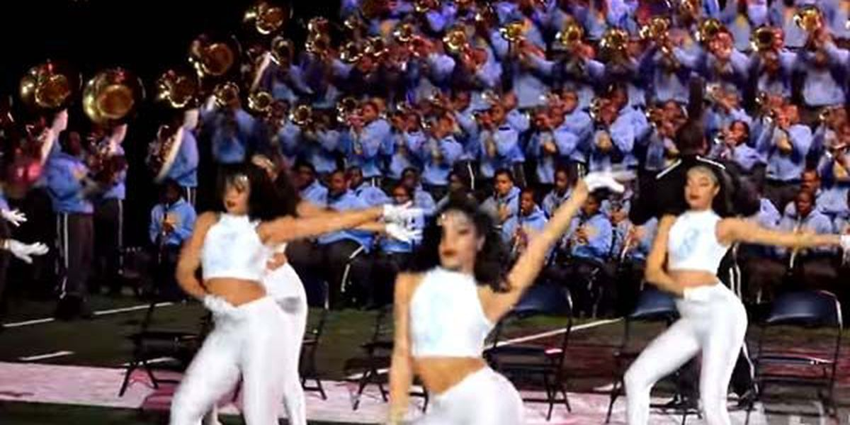 VIDEO: Southern University marching band performs 'Hello' by Adele