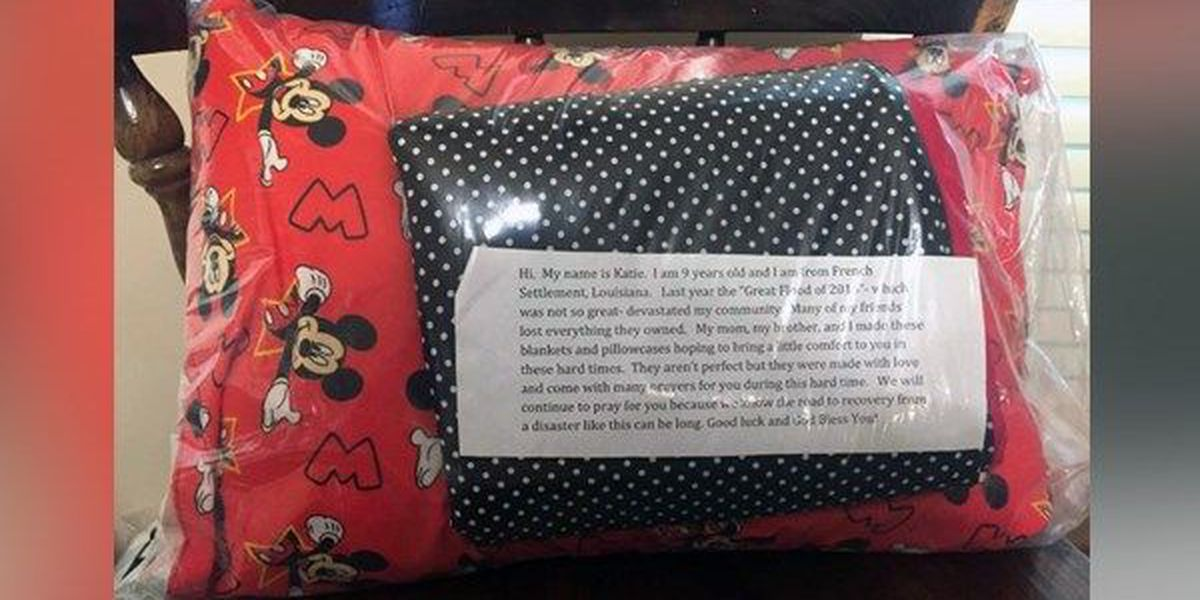 Help for Harvey coming in small, handmade packages