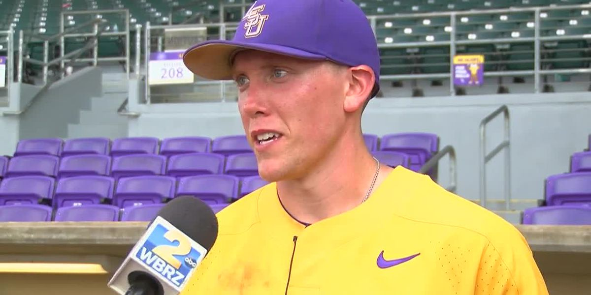 POST GAME: Zack Hess LSU Baseball