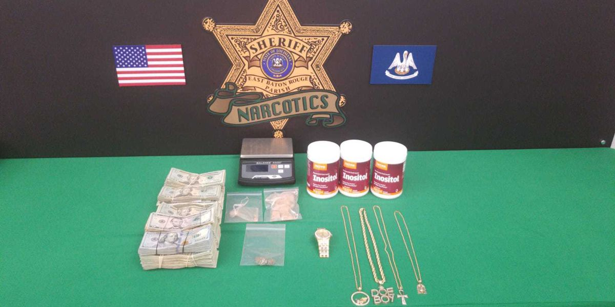 Fentanyl laced praline candy among items seized during drug arrest, deputies say