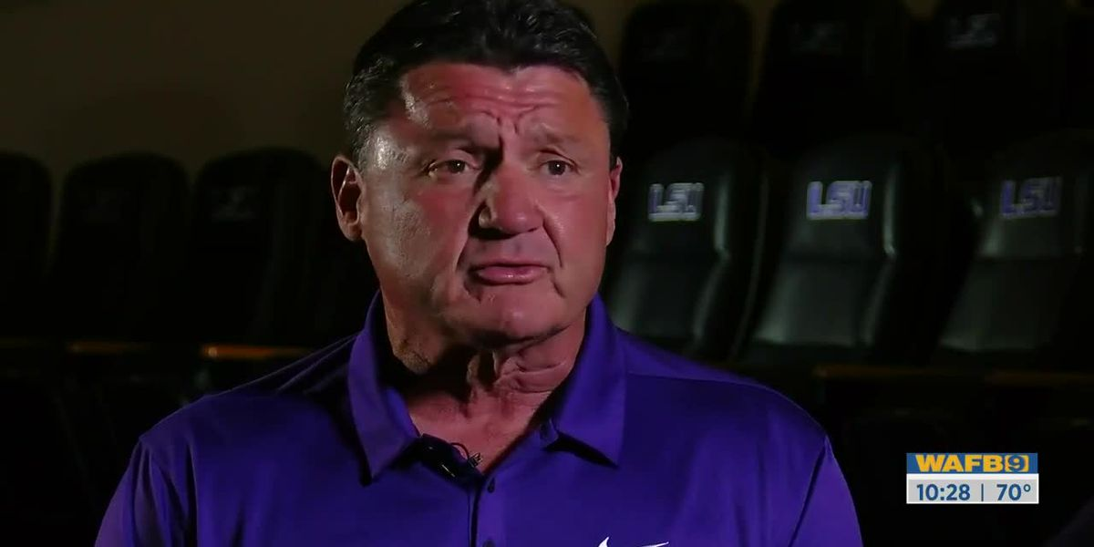 EXCLUSIVE: Coach O on how LSU football is coping with shutdown amid COVID-19 outbreak