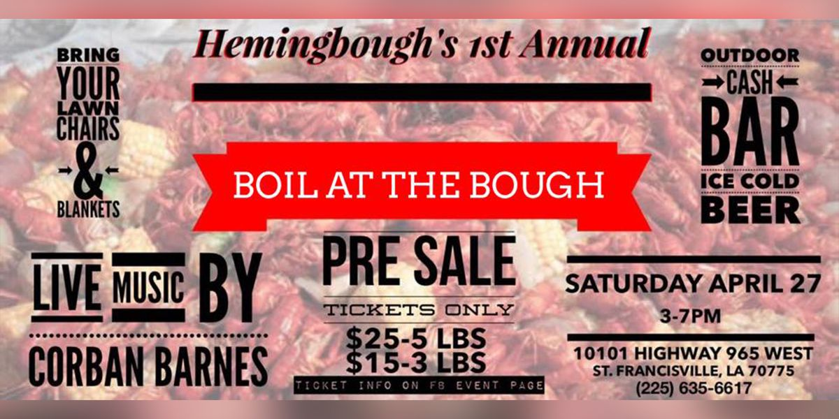 Hemingbough announces spring crawfish boil, new guest cabins, and chapel