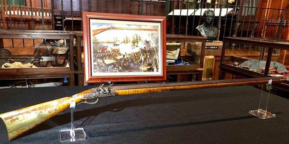 Stolen historic rifle recovered in time for anniversary of Battle of New Orleans