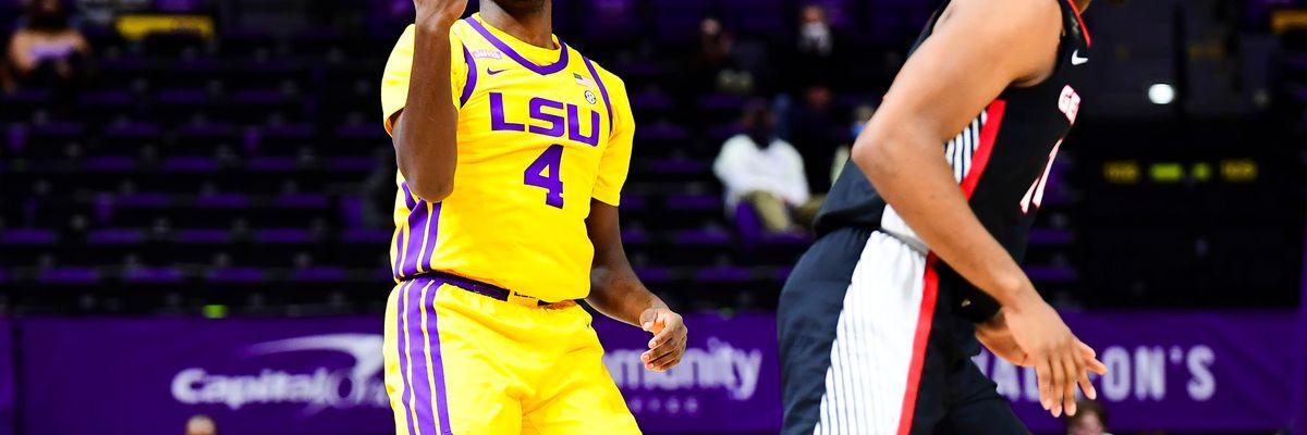 LSU forward Darius Days to enter name into 2021 NBA Draft