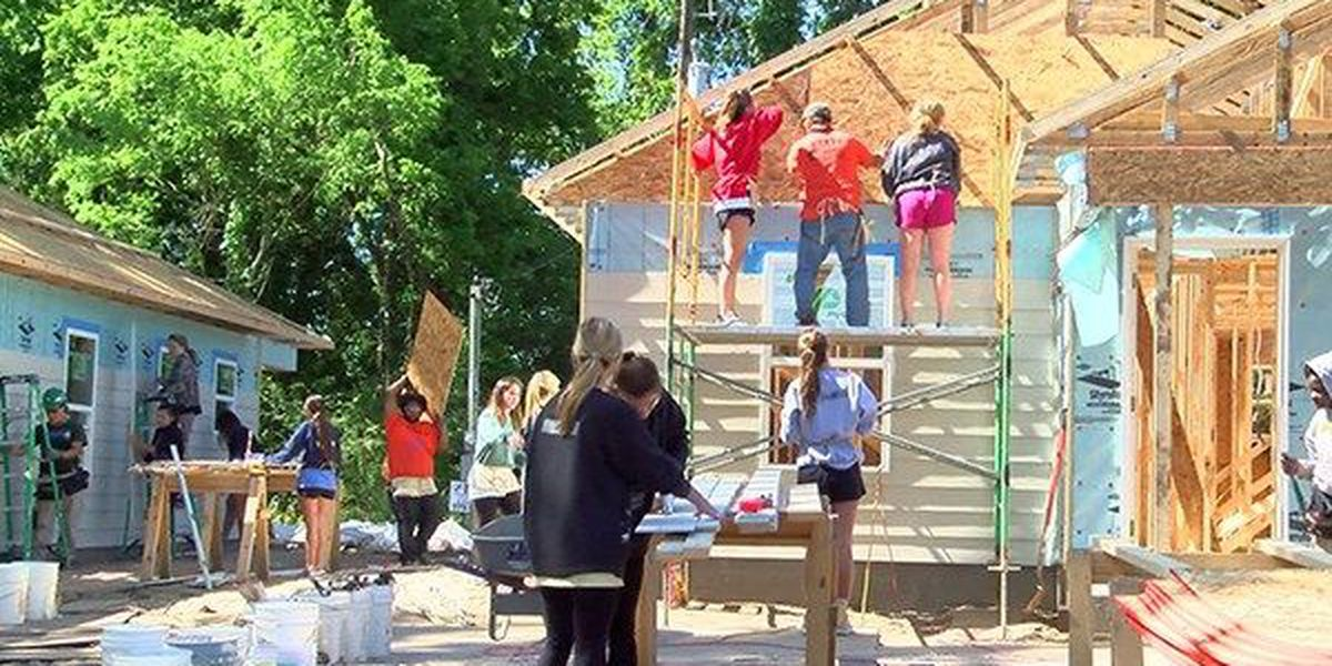 POWER OF 9: Habitat for Humanity and LSU Greeks