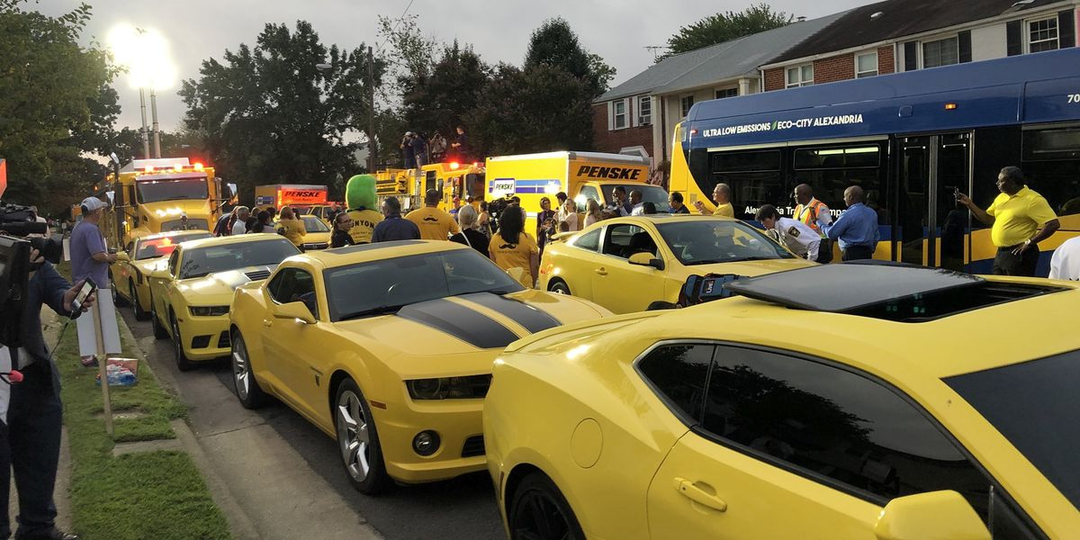 4-year-old cancer survivor who loves Bumblebee gets yellow car surprise for his birthday