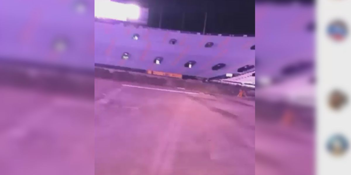 LSU fraternity brother accused of joyriding, tearing up Tiger Stadium football field