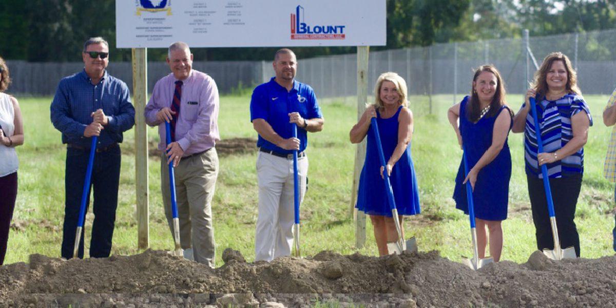 Live Oak High breaks ground on new baseball-softball complex