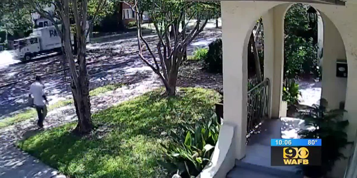 WANTED: Man accused of stealing packages delivered to home in Garden District