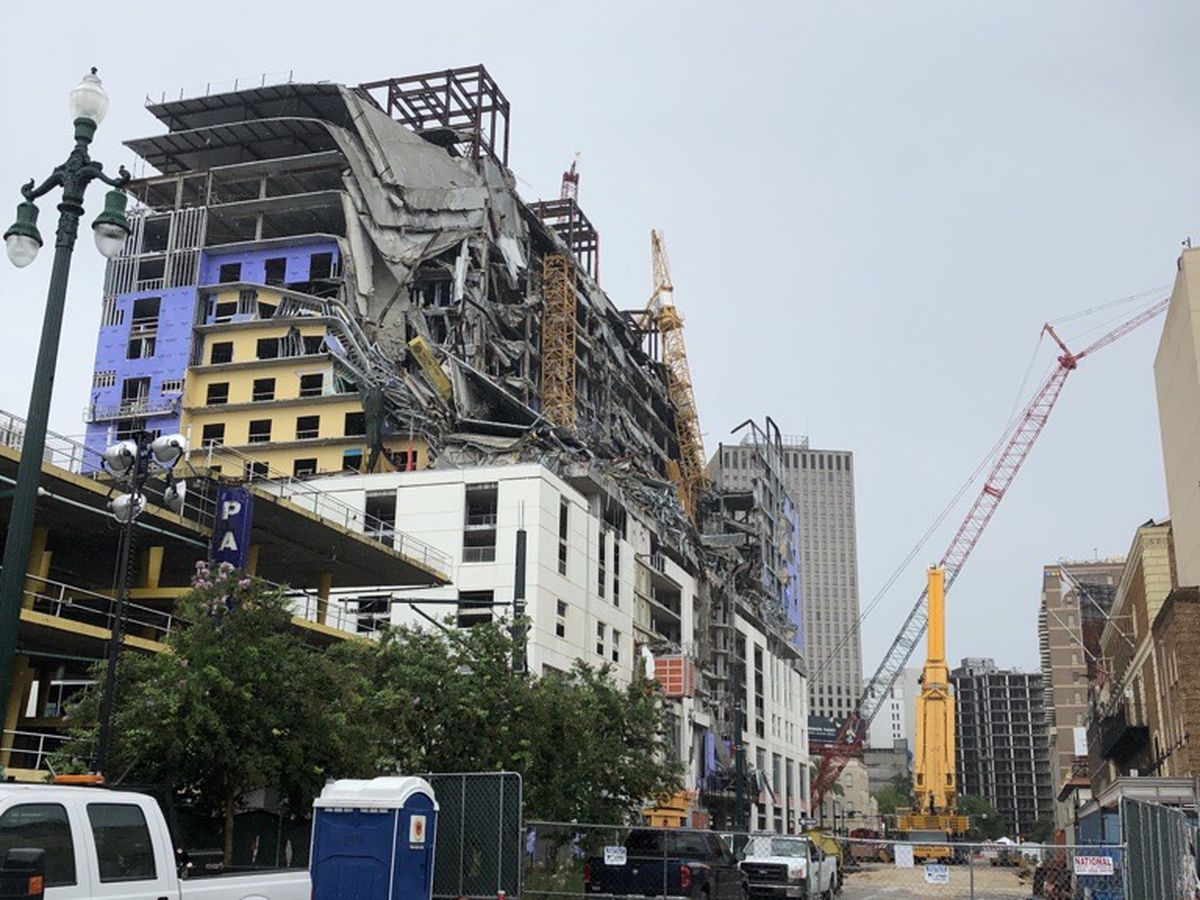 NOFD: Significant progress made over the weekend at Hard Rock collapse site