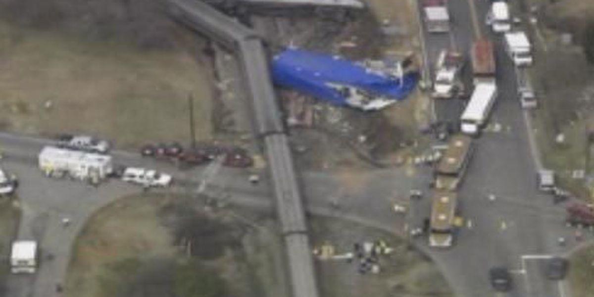 Train crashes in North Carolina