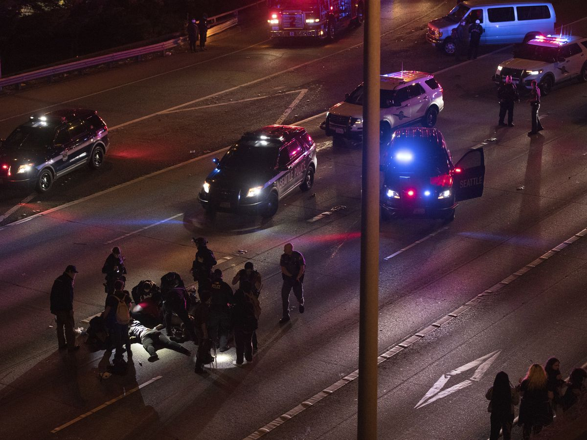 $1.2 million bail for driver that hit 2 Seattle protesters