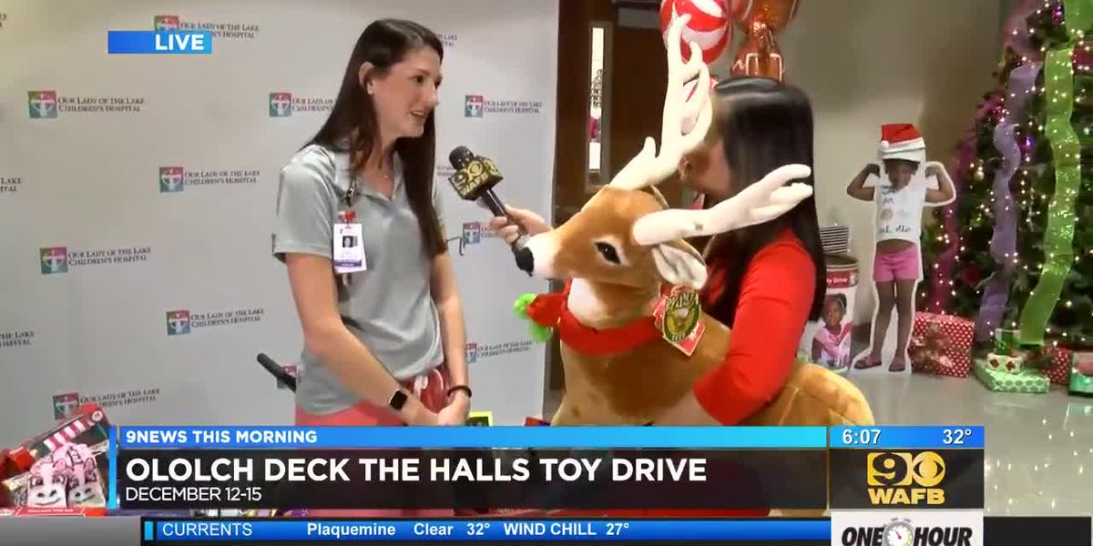 OLOL Children's Hospital to hold Deck the Halls Holiday Donation Drive - Dana Achary