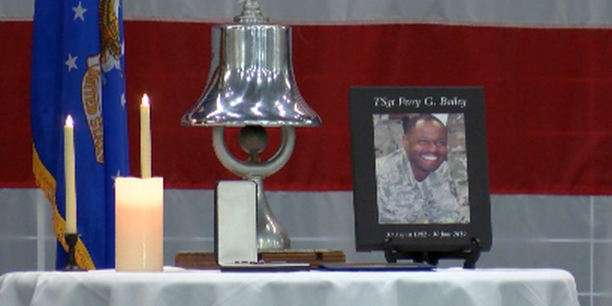 Barksdale Air Force Base family remembers slain airman