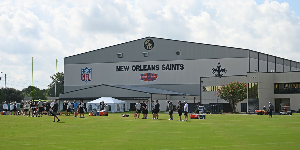 Saints training camp starts with lack of usual excitement