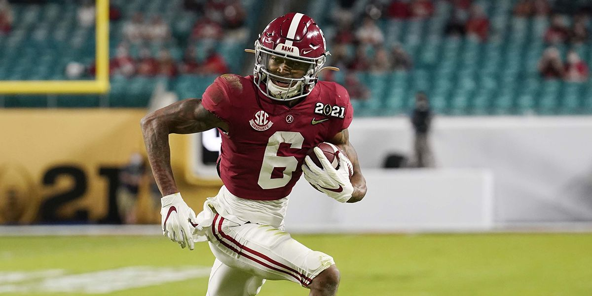 Amite's DeVonta Smith puts on record performance in CFP National Championship