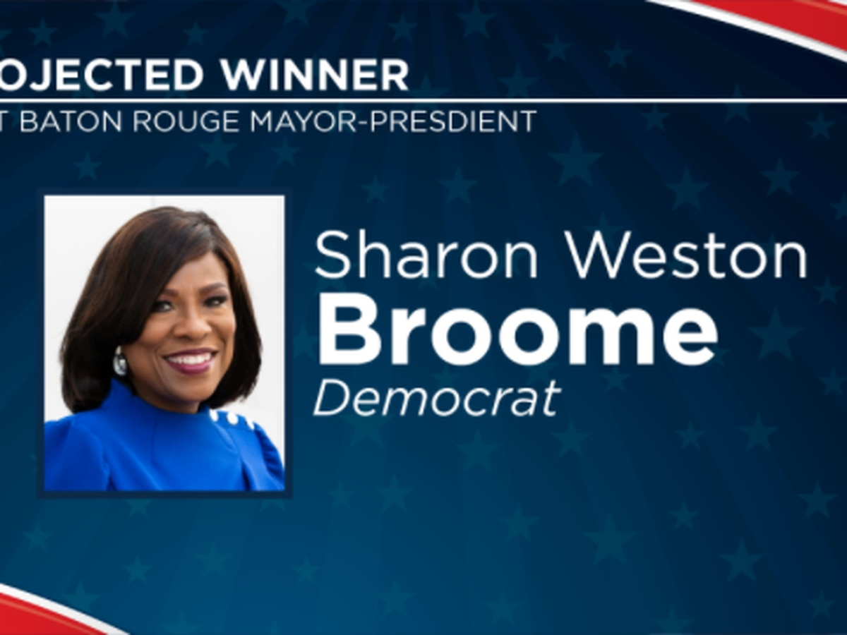 Mayor Broome projected to win second term