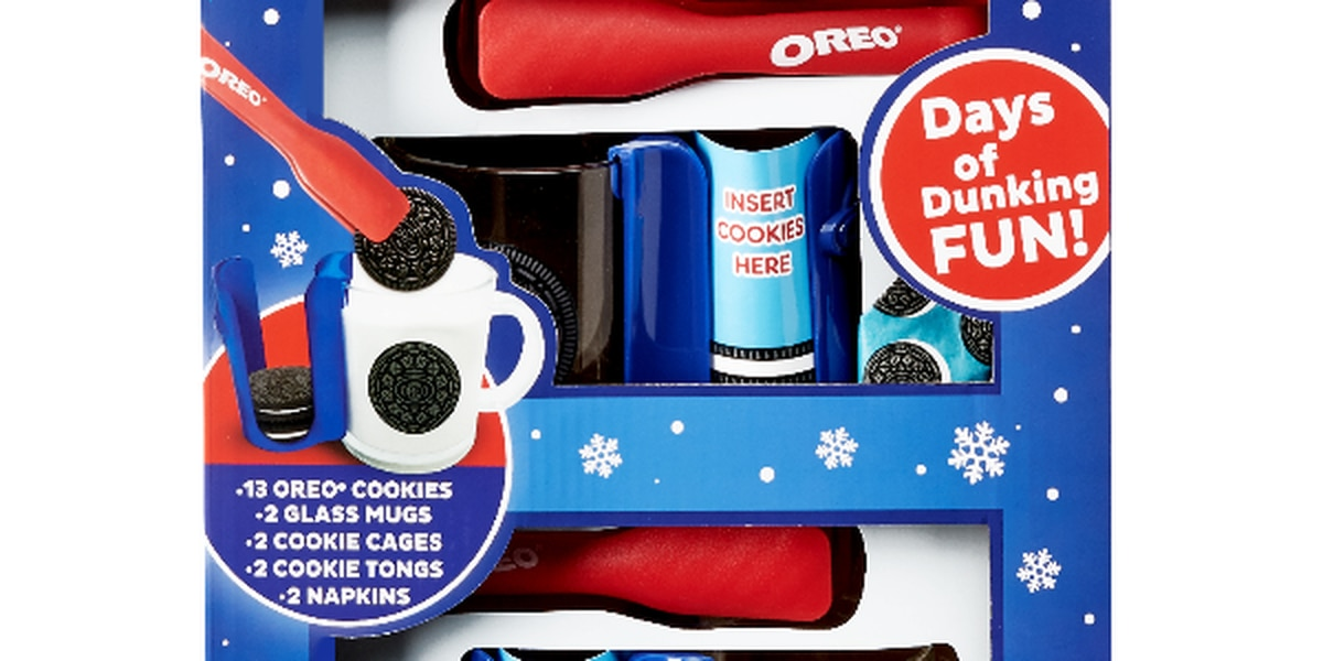 Cookie-dunking for your convenience: Oreo releases Ultimate Dunking Set just in time for the holidays