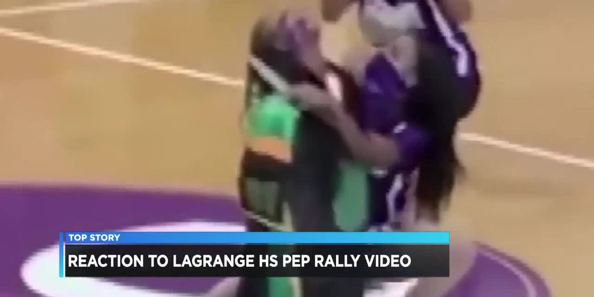 School board investigating after shocking pep rally video