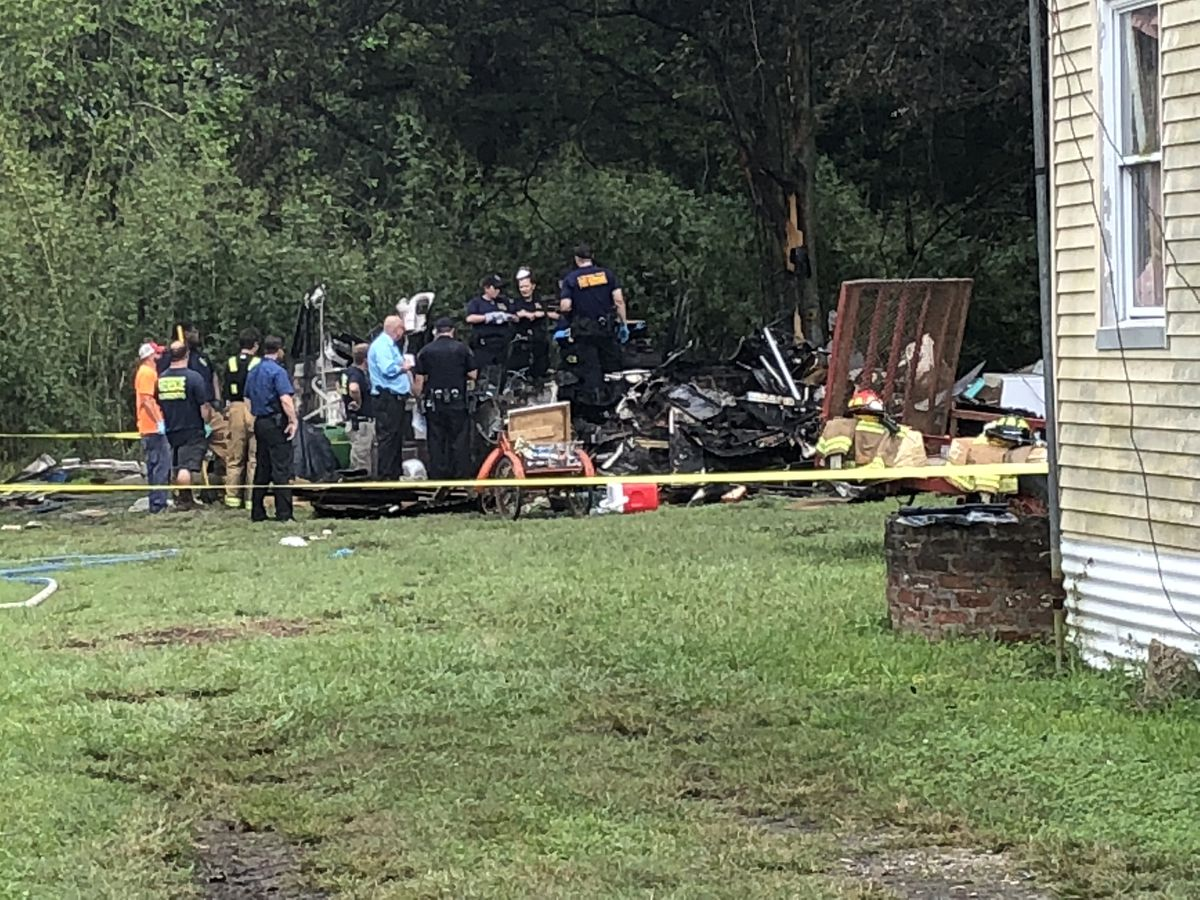 Deadly fire on River Road in Darrow
