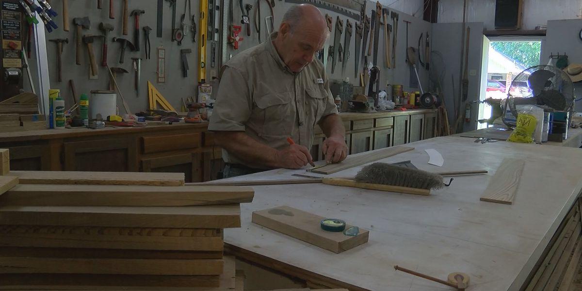 South La. boat builder makes history... using history
