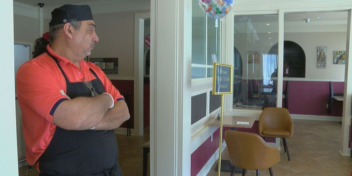 Owner of Greek restaurant that just reopened post-2016 flood trying to make ends meet amid coronavirus