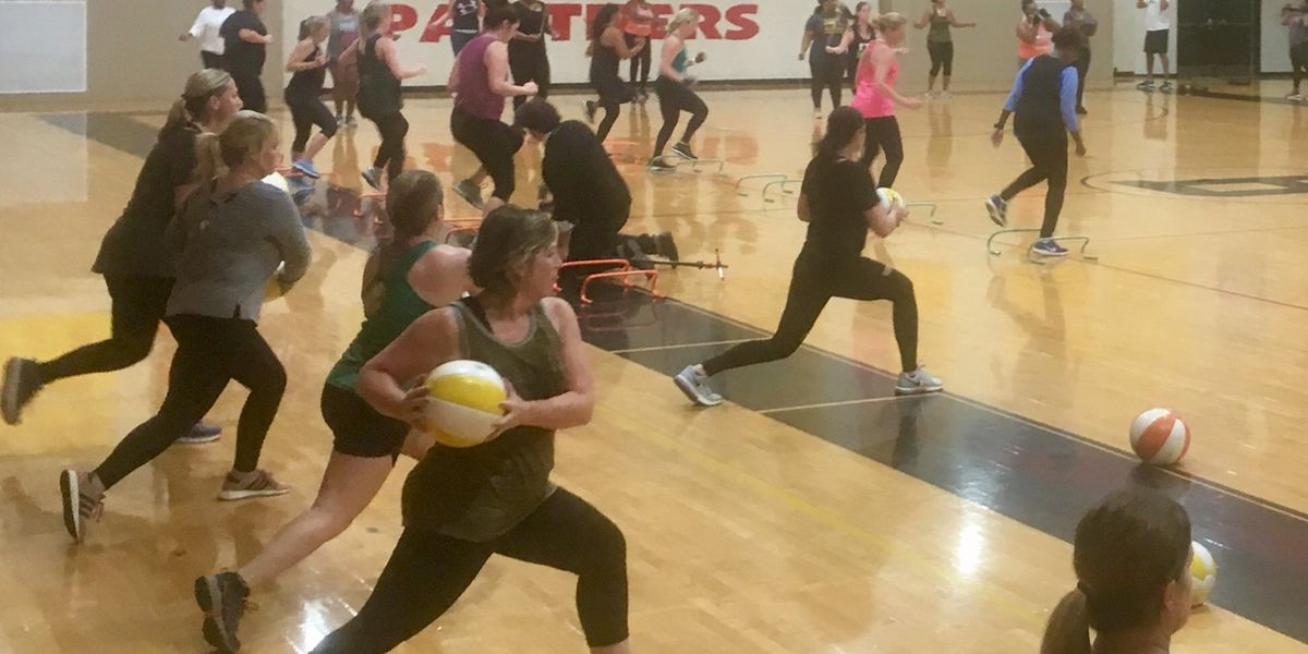 Coach Sha's Bootcamp combines fitness and fellowship