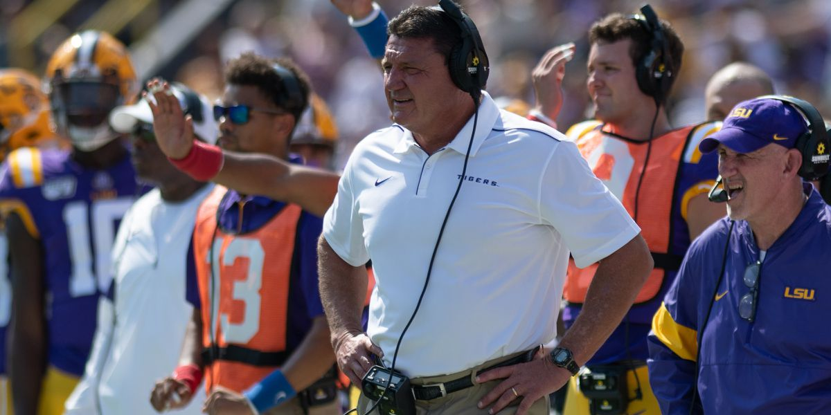 Lunch with Coach O: LSU vs. Florida Preview