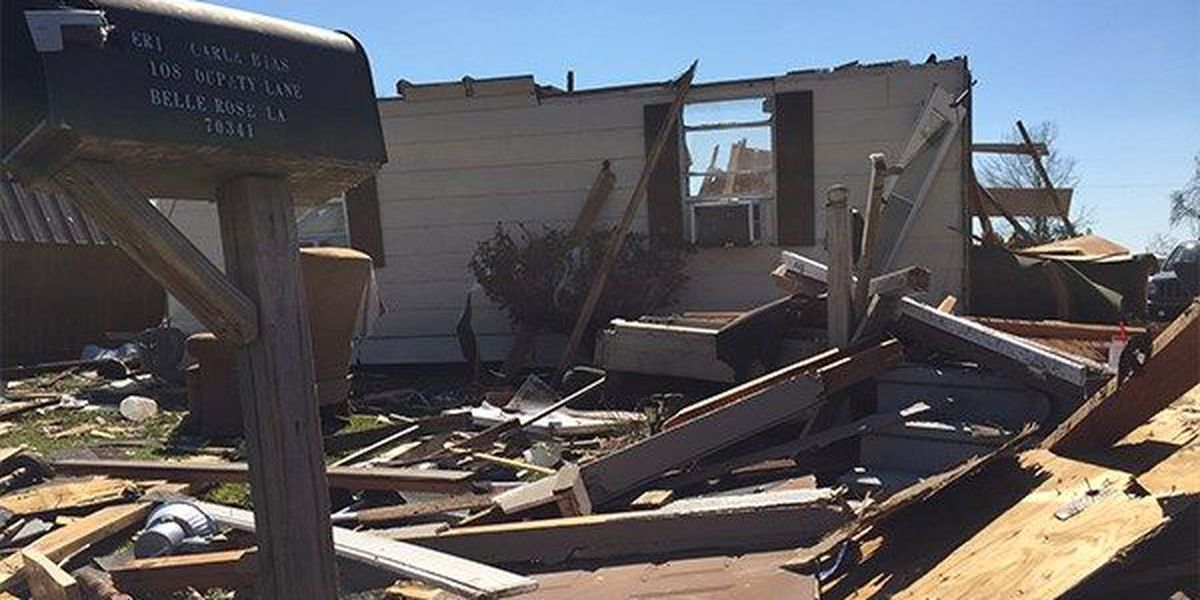 Former Belle Rose resident returns to help tornado victims with charity event