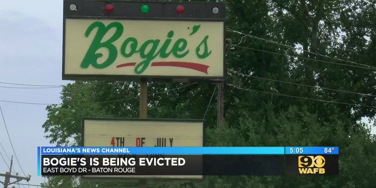 Bogie's bar near LSU is being evicted
