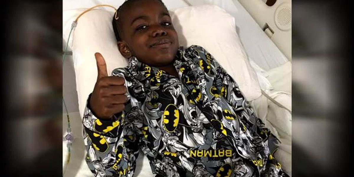 8-year-old beats stage 4 cancer at St. Jude