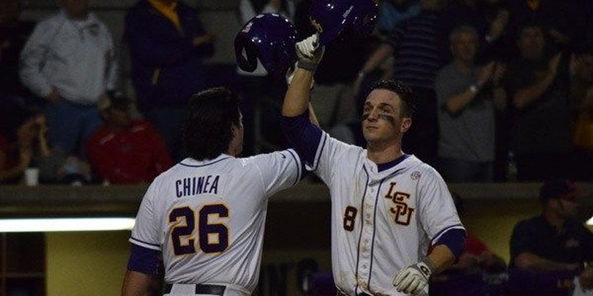 LSU maintains No. 1 ranking after sweep of Missouri