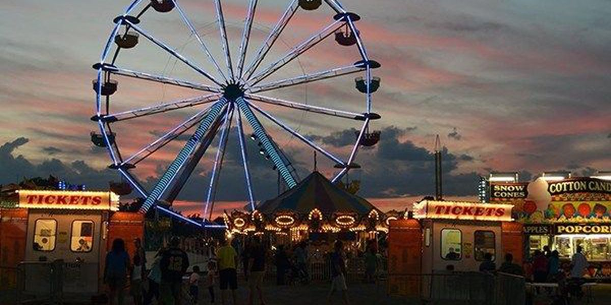 Greater Baton Rouge State Fair cancelled Wednesday due to rain