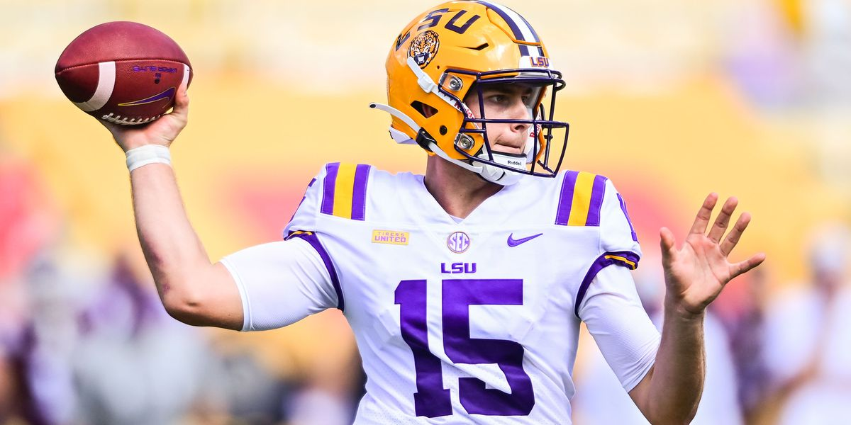 LSU starting QB Myles Brennan ruled out for Alabama game, Orgeron says