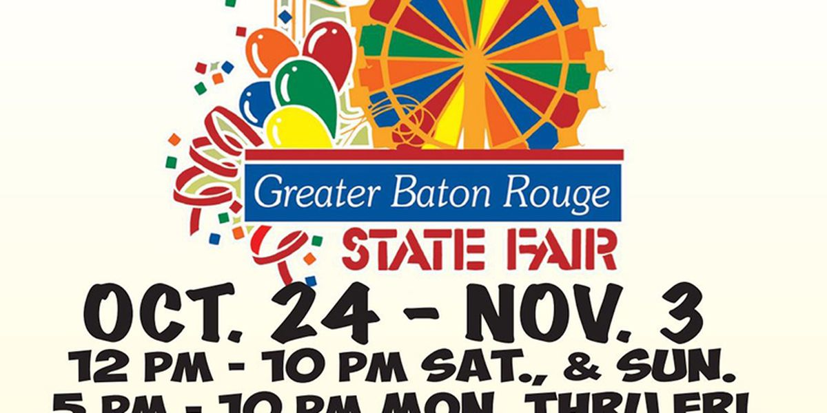 Greater Baton Rouge State Fair to reopen Friday
