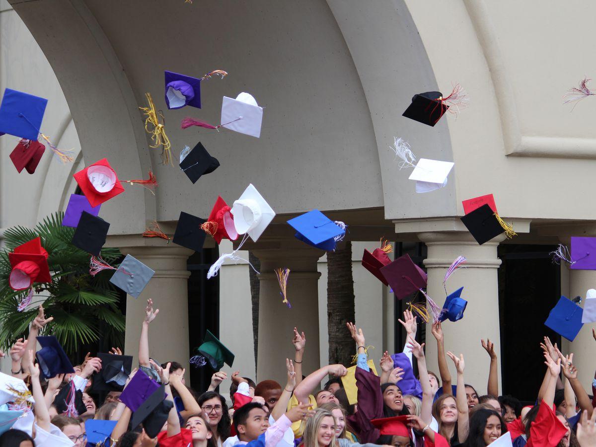 EBR announces tentative schedule for modified in-person high school graduation ceremonies