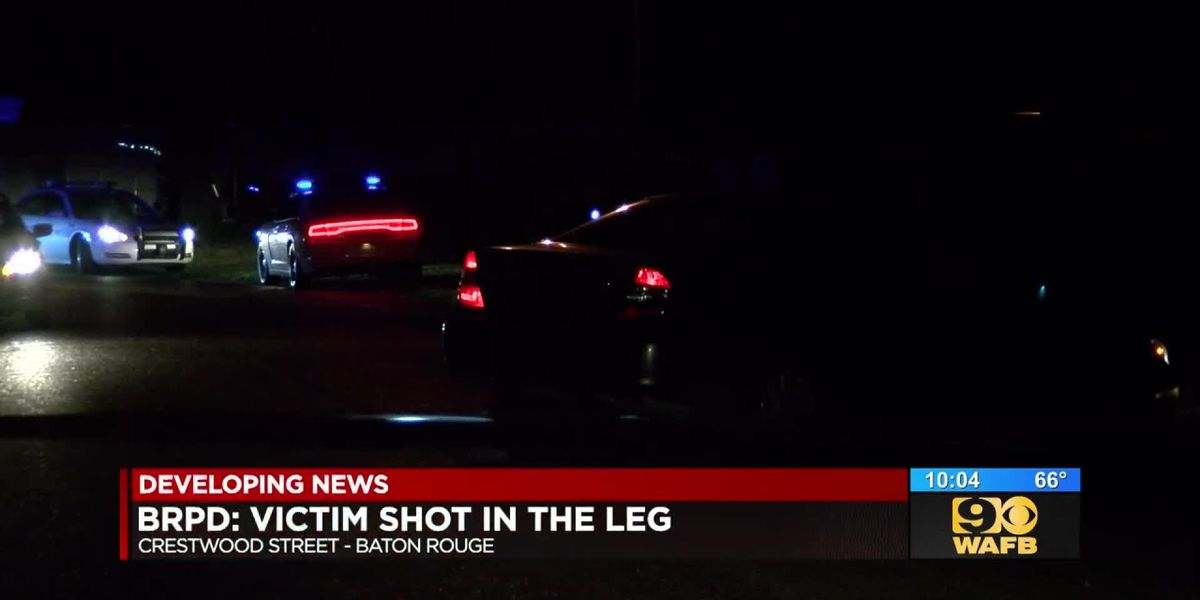Man reportedly found shot in leg on Crestwood Street