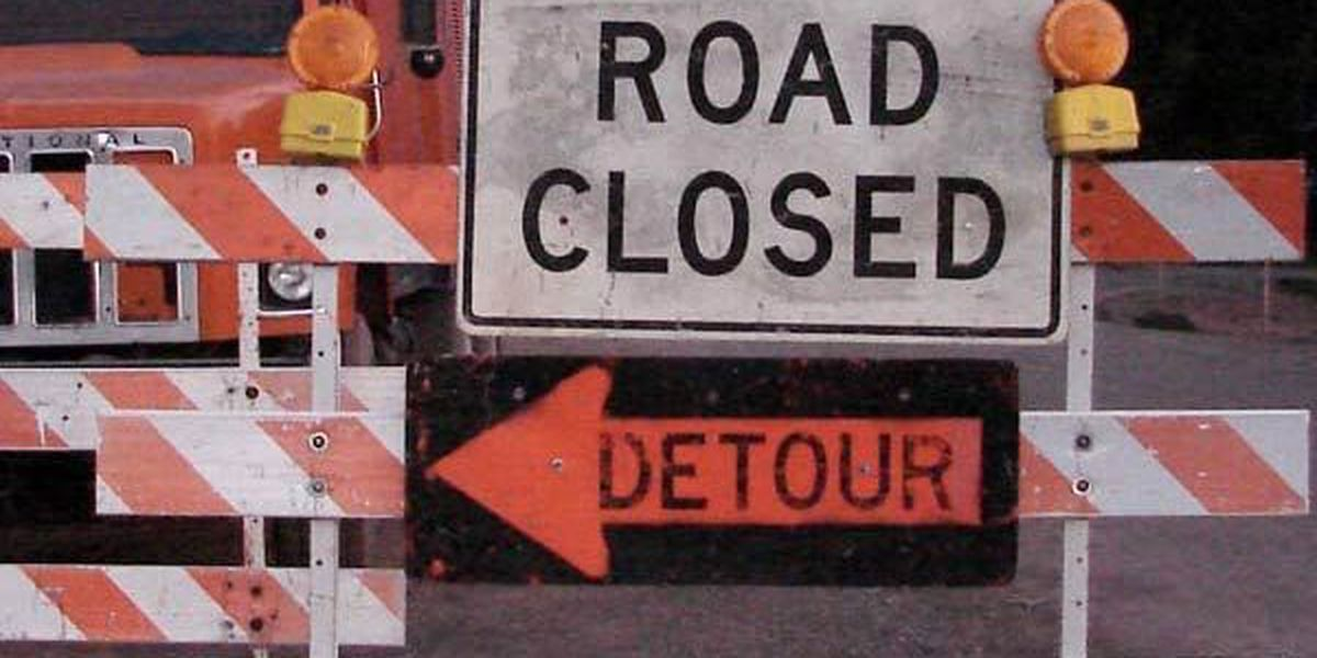 Portion of George O'Neal Rd. to be closed through Nov. 18