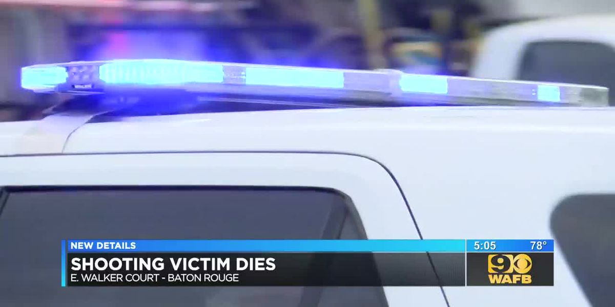 Victim shot in parking lot outside apartment dies from injuries