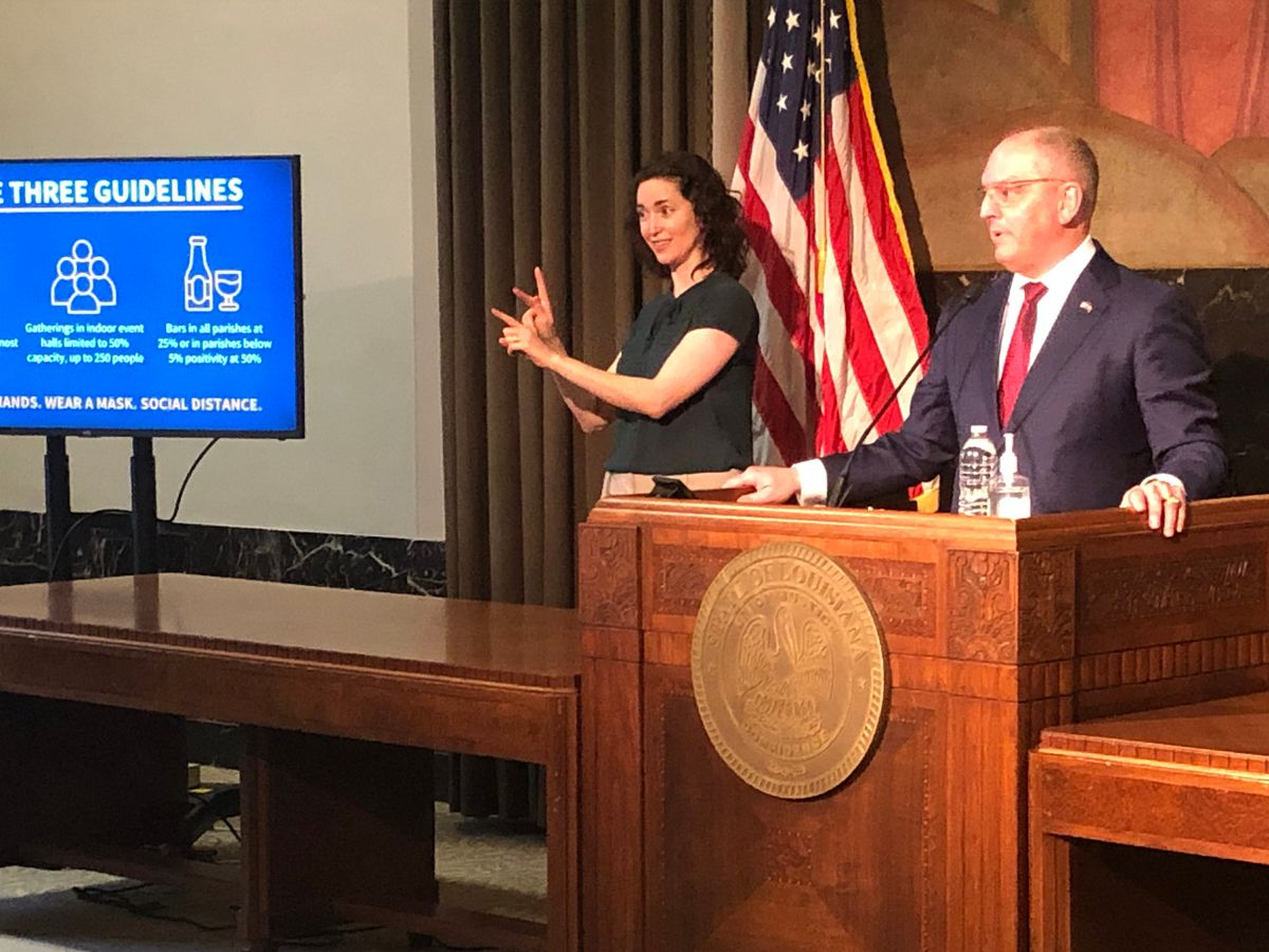 Louisiana will move to Phase 3 beginning March 3; mask mandate to remain in effect